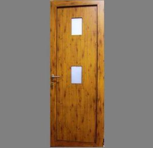 Puerta Aluminio panel entrada
